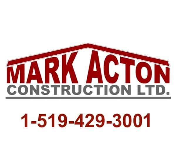 Mark Acton Logo Bathroom renos