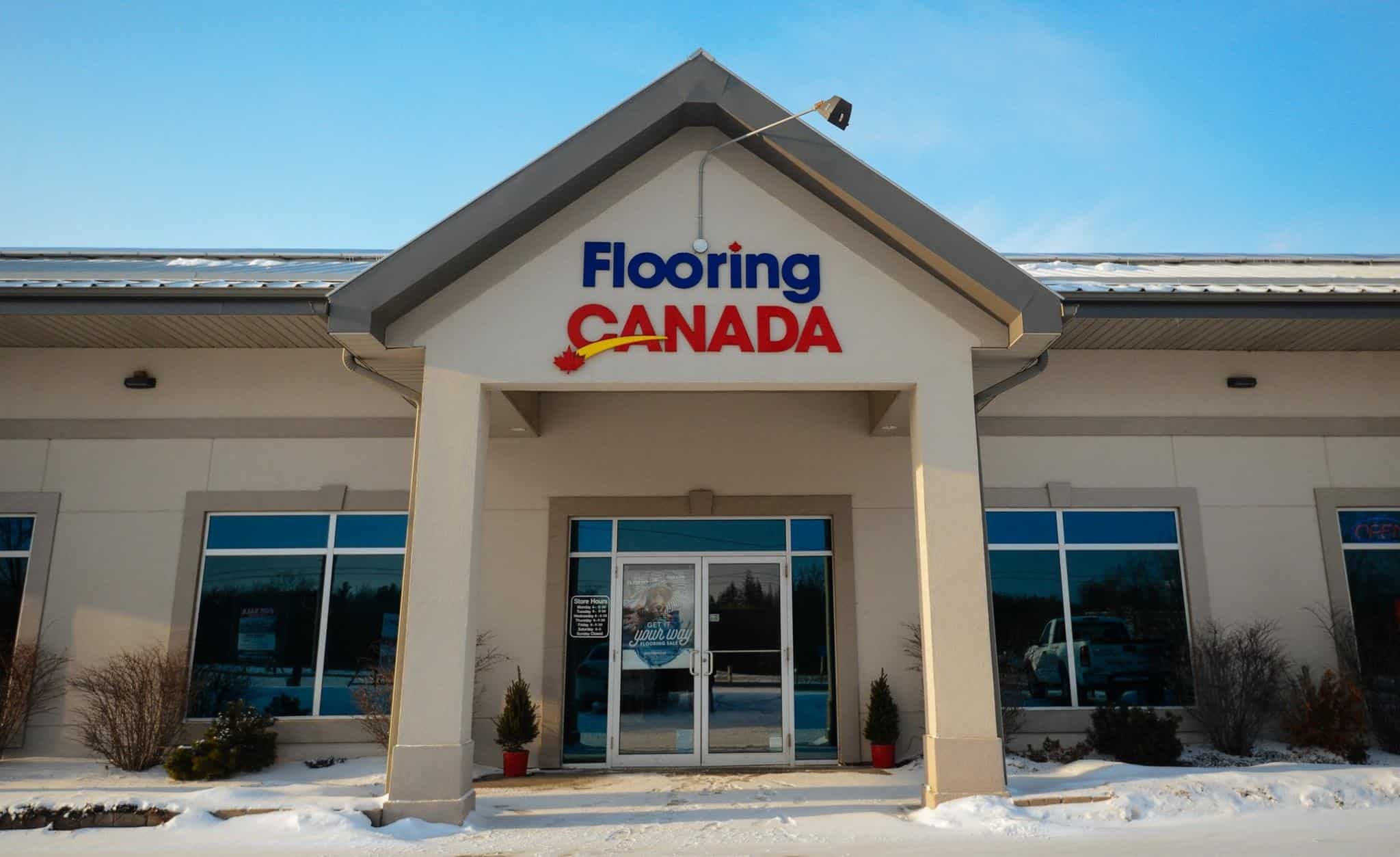 Store Front Flooring Canada
